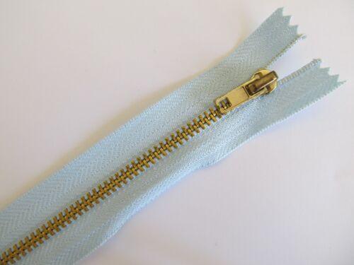 Pantalones Jeans Falda Con Cremallera de Latón de Metal pesado deber no 4 peso Tamaño y Color Elección