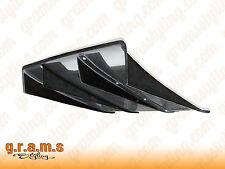 UNIVERSAL CARBON FIBER 70cm Varis Style Diffuser / Undertray + Center Fins