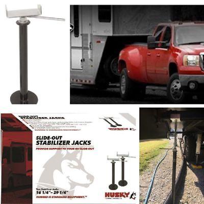 """Trailer Stabilizer Jacks 49/"""" Pair Slide-Out Adjustable Lift RV Camper Levelling"""