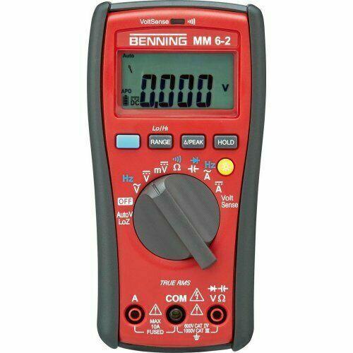 Benning Digital-Multimeter MM 6-2 NEU Mit Rechnung inkl MwSt
