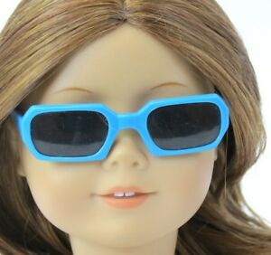 Cool Blue Shades Sunglasses fits American Girl Dolls 18 in Doll Clothes