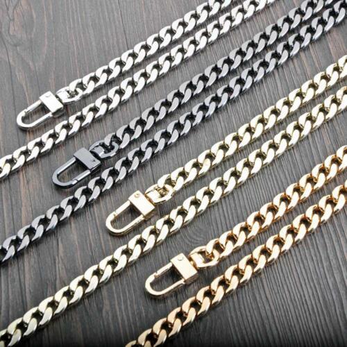 New Metal Purse Chain Strap Shoulder Crossbody Bag Handbag Replacement.