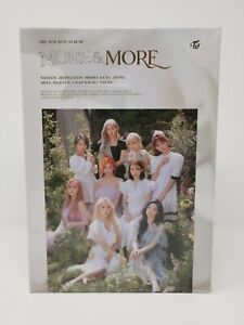 Version-C-NEW-SEALED-TWICE-More-and-More-9th-Mini-Album-K-pop-Kpop-UK