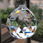 1PC Clear Crystal Acrylic Chandelier Light Ball Prisms Drop Pendant Spacer Bead