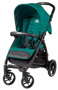 Peg Perego Booklet Aquamarine Jogger Single Seat Stroller