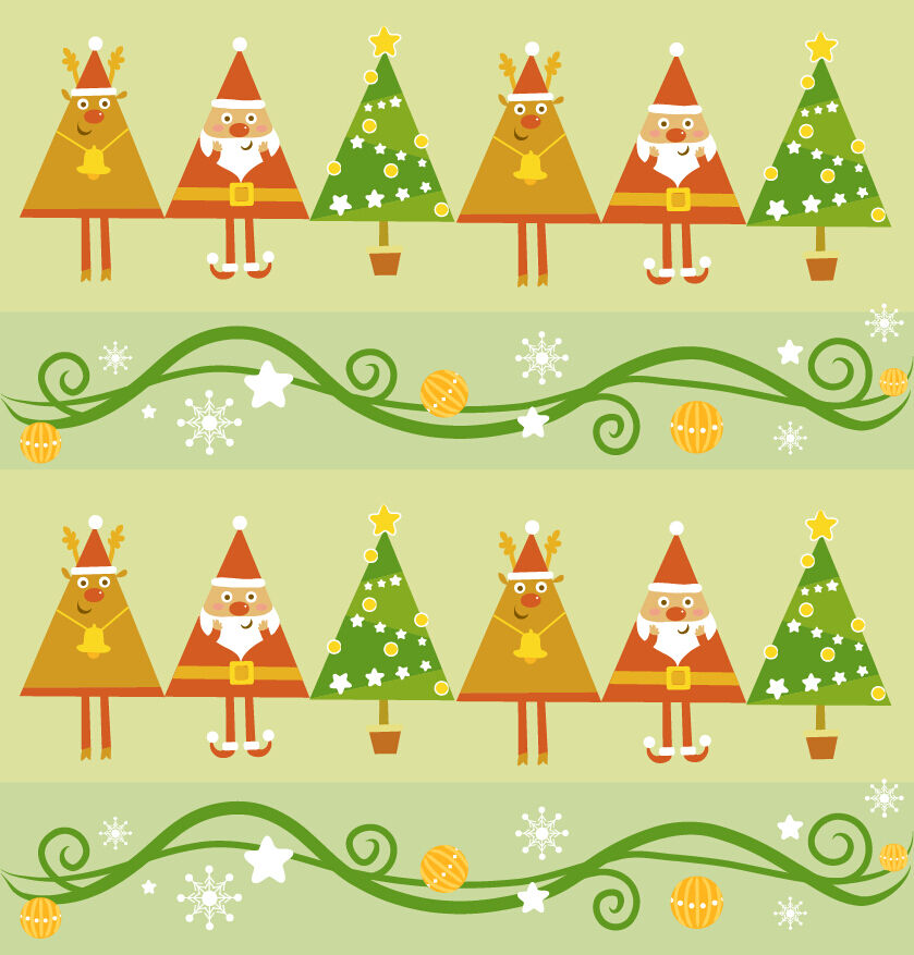 3D Christmas Farbeful pattern WallPaper Print Decal Wall Deco Wall Indoor Murals