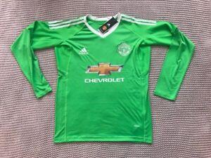 c2a3a554eed David de Gea Manchester United Team - New Men's Green Soccer Jersey ...