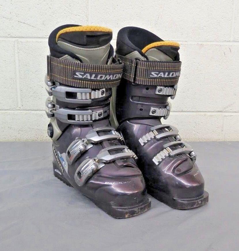 Salomon Perfora 8.  0 Prolink Axe Women's Downhill Ski Boots MDP 23.5 US 6  new style