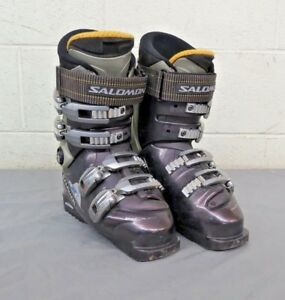 Details about Salomon Perfora 8.0 Prolink Axe Women's Downhill Ski Boots MDP 23.5 US 6