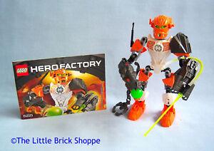 Lego Hero Factory 6221 Nex Complete Figure With Instructions Ebay