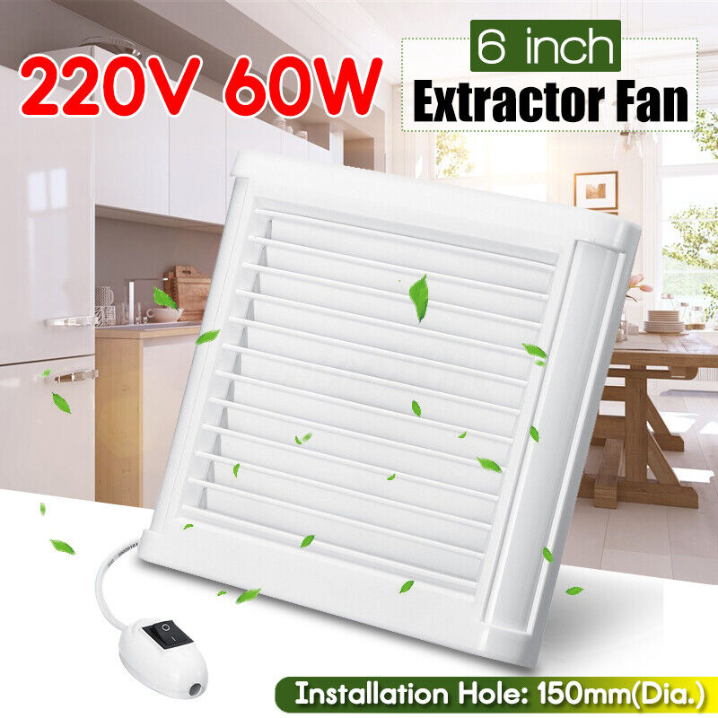 Vectaire Eco 150ca Mcc Bathroom Kitchen Pullcord Extractor Fan 230v 50hz For Sale Online Ebay