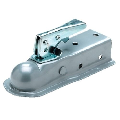 Boat Trailer Coupler for 2 Inch Ball and 2-1//2 Inch Wide Channel