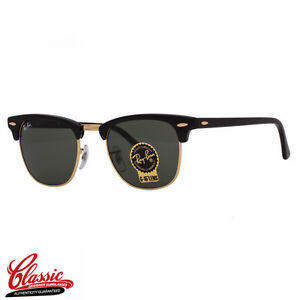 Rb3016 Clubmaster Ray Sunglasses Frame Black Details Ban 49mm About W0365e Original Okn0wP