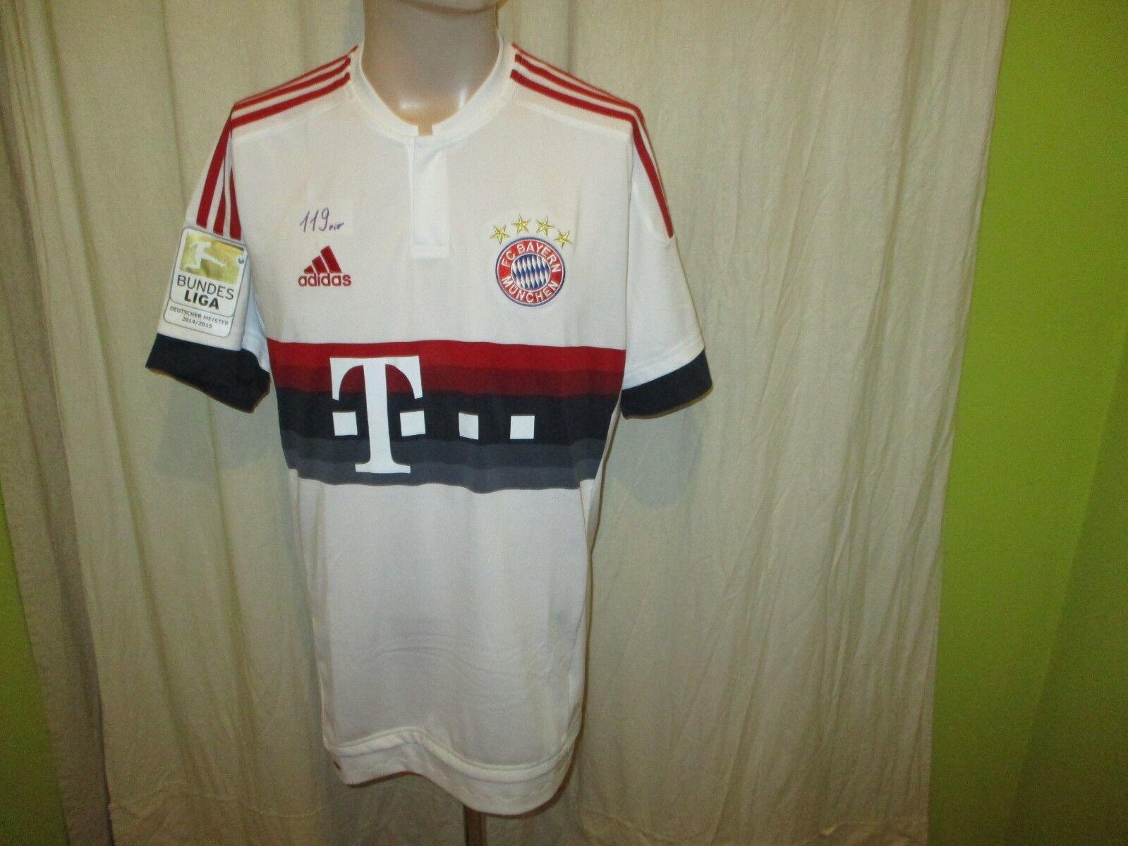 FC Bayern Bayern Bayern München Original Adidas Auswärts Trikot 2015 16  -T- - -  Gr.L Neu e2dcdf