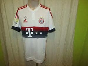 Fc Bayern München Original Adidas Auswärts Trikot 201516 T