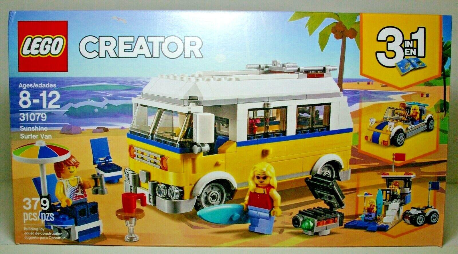 LEGO CREATOR 31079 SUNSHINE SURFER VAN 2018 MIP