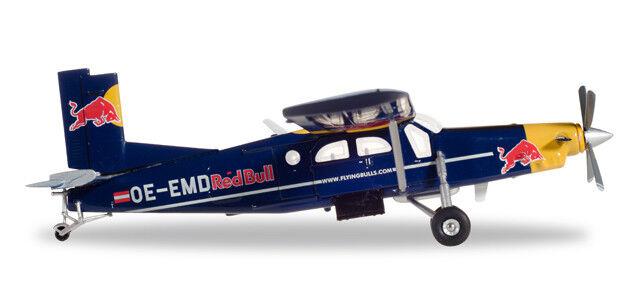 The Flying Bulls Pilatus PC-6 Turbo Porter - OE-EMD 15.3 cm 1 72 Herpa