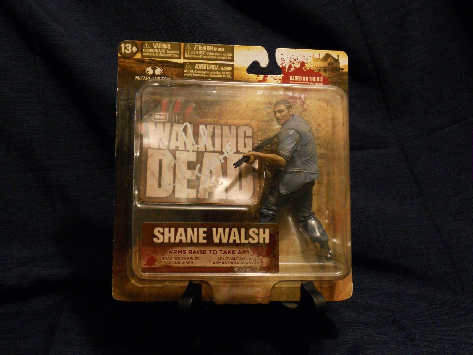 McFarlane Toys The Walking Dead  Series 2 - Shane Walsh Figure (autographed)