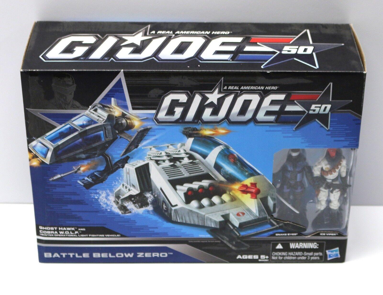 2014 Battle Below Zero - Mint in Box - Ghost Hawk Cobra Wolf - 50th Anniversary