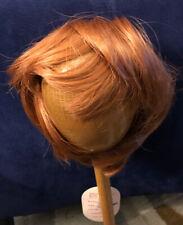 Global Dolls B Lauren Size 9-10 Carrot Red Doll Wig DL242