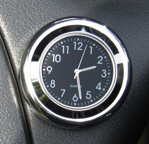 "Black Clock British made Time-Rite /""Forty-Four/"" Classic Car Dashboard Clock"