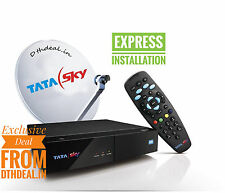 TATASKY DTH HD Connection With  *FREE* INSTALLATION*