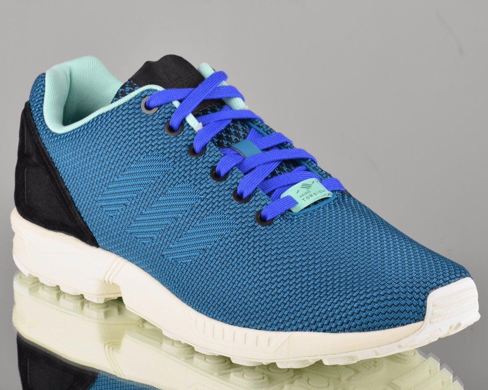 Adidas Original Zx Flux Moyen de tissage Messieurs Lifestyle paniers Aquamarin