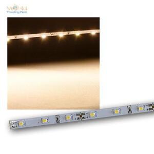 5er Set Leiterplatte 48 SMD LED warmweiß 12V 1m teilbar Lichtleiste Platine NEU