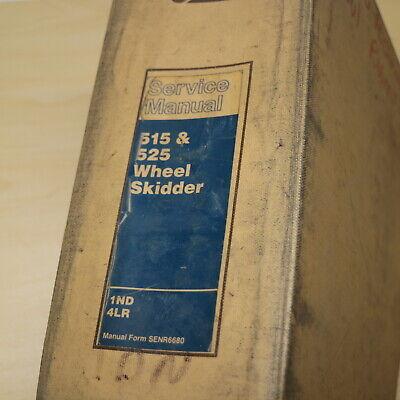 CAT Caterpillar 515 525 Skidder Hydraulic System Schematic Manual repair service