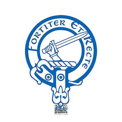 ELLIOT CLAN CREST vinyl sticker Truck Car Computer Scottish Heraldry