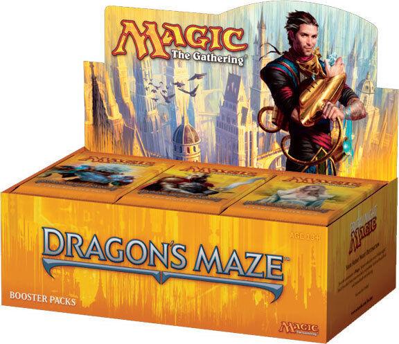 Magic - Caja Sellada - DRAGON'S MAZE - ENGLISH