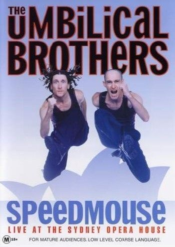1 of 1 - The Umbilical Brothers - Speedmouse (DVD, 2004)-REGION 4-Brand new- Free postage