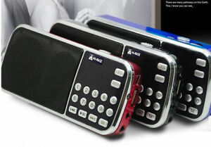 Hi-rice-sd-101-Digital-Fm-AM-Radio-Usb-Tf-Reproductor-De-Mp3-Altavoz-Para-Elder-Padres