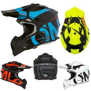 ONEAL-2-Series-RL-Slick-moto-cross-casco-MX-enduro-offroad-atv-quad-moto-FMX