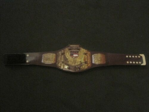 16 Custom Wrestling Figure Belts WCW NWA WWE WWF NXT Action figure not included
