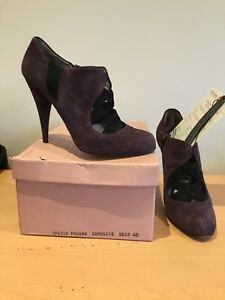 7 Taille en à uk Miu 40 Bottines Plum l'aise Y4UpqF