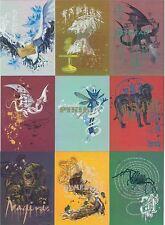 Harry Potter Memorable Moments Series 1 Complete Prismatic Foil Chase Set R1-9