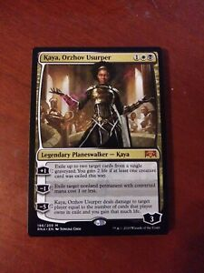 1x Kaya Ravnica Allegiance Nm Orzhov Usurper Magic The Gathering Mtg Magic The Gathering Sammeln Seltenes Exile up to two target cards from a single graveyard. 1x kaya ravnica allegiance nm orzhov