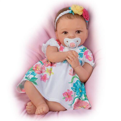 Cheryl Hill Pretty and Petite Presley TrueTouch Silicone Lifelike Baby Doll NEW
