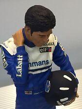 Exoto / Damon Hill / 1996 F1 Champion / Hand Painted Figurine / 1:9