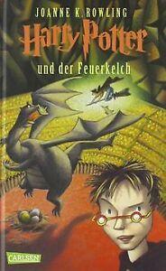Harry-Potter-und-der-Feuerkelch-von-Rowling-Joanne-K-Buch-Zustand-gut