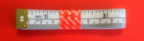 """Dobladillo Cinta De Medir Métrica Imperial 150cm 60/"""" Diseño Blanco-cirugía ®"""