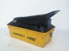 Enerpac Patg 1102n Turbo Ii Air Operated Hydraulic Foot Pump 10000 Psi