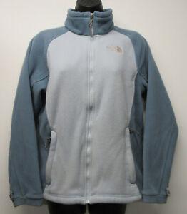 Women-039-s-THE-NORTH-FACE-Blue-Fleece-Full-Zip-Jacket-Liner-sz-Medium