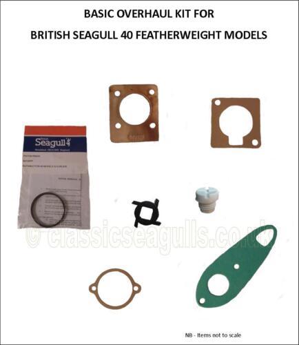 British Seagull 40 Minus//Featherweight Overhaul Kit