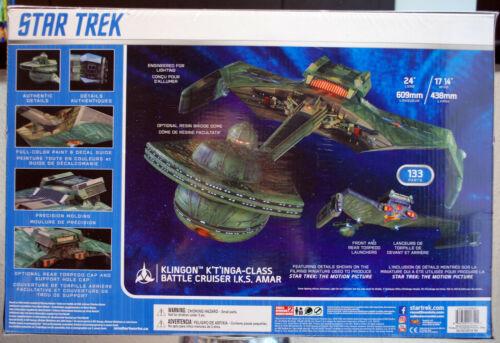 Amar Battle Cruis 1:350 Polar Lights 950 Star Trek Klingon K`TÌnga Class I.K.S