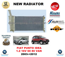 Per FIAT IDEA 350 1.2 16V PUNTO 188 1.2 60 16V 80 2003-2012 RADIATORE OE Quality
