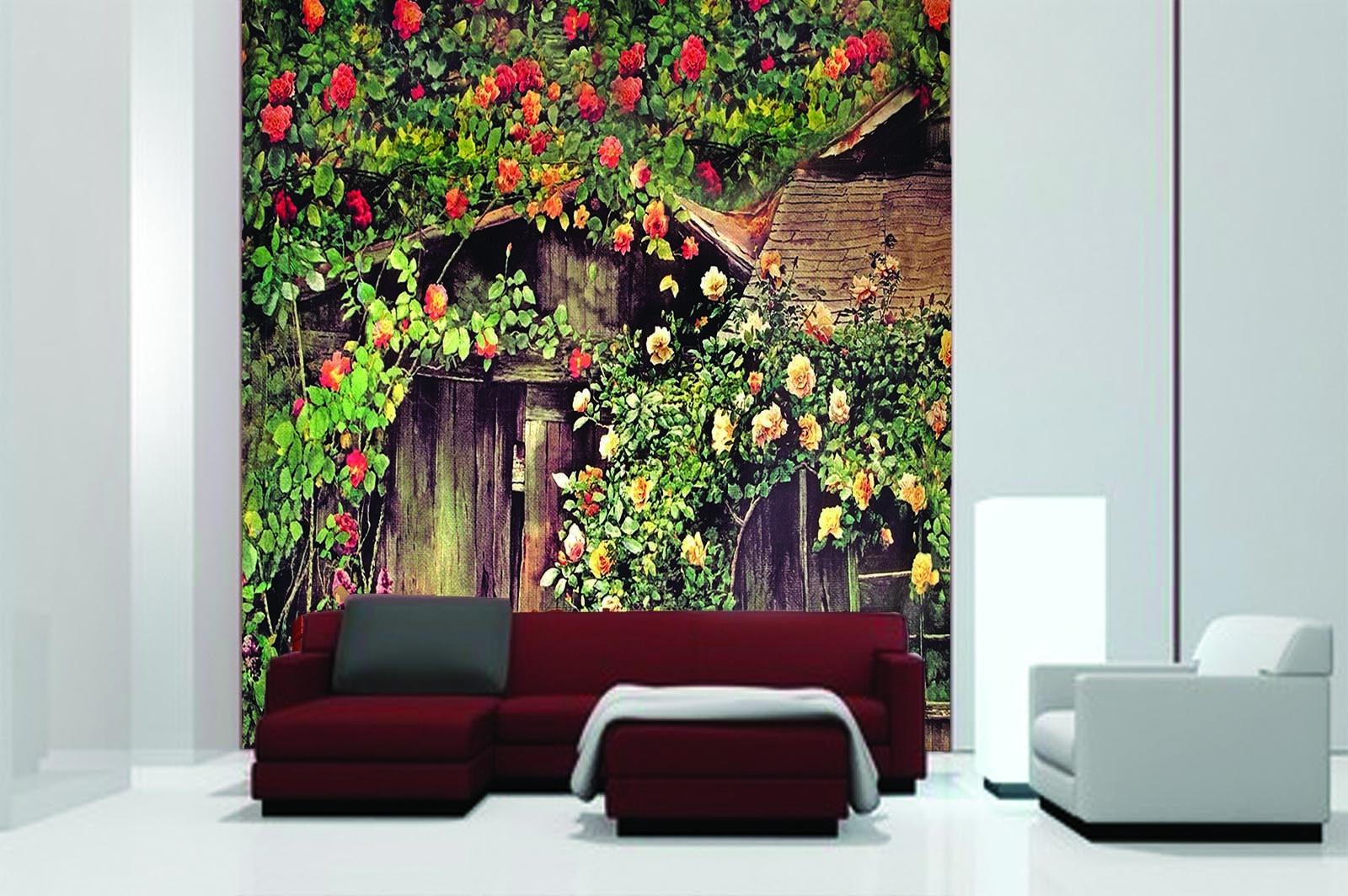 3D Chalet Rosan Rebe 88 88 88 Tapete Wandgemälde Tapete Tapeten Bild Familie DE Summer   Adoptieren    Gutes Design    Hohe Qualität und geringer Aufwand  65328f