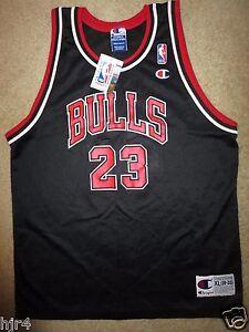 Michael-Jordan-23-Chicago-Bulls-NBA-Champion-Trikot-Jugendliche-XL-18-20-Neu