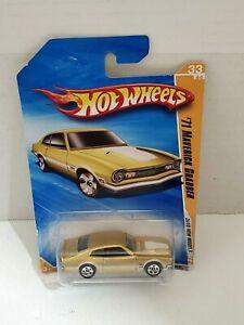 Hot Wheels 71 Maverick Grabber Ford Motor Company Toy Car Diecast Mattel